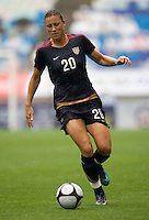 Abby Wambach.  The USWNT defeated Canada, 1-0, at Suwon World Cup Stadium in Suwon, South Korea, to win the Peace Queen Cup.