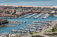 Aerial Photo of Sunset Beach, Peter's Landing Marina and Broadmoor Community