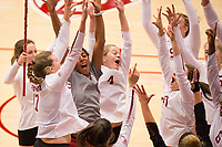 Stanford Volleyball W vs Arizona, September 29, 2017