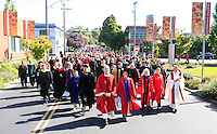 09292011 - Seattle University, Mass of the Holy Spirit, Fall 2011, Beginning of the academic school year ,procession from Immaculate Conception church down to campus