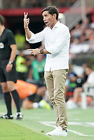 Valencia CF's coach Marcelino Garcia Toral during La Liga match. August 17,2019. (ALTERPHOTOS/Acero)<br /> Liga Spagna 2019/2020 <br /> Valencia - Real Sociedad<br /> Foto Alterphotos / Insidefoto <br /> ITALY ONLY