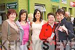 Teresa O'Leary Kilcummin, Grace Desmond, Donna Morgan, Nuala and Maeve Keane Killarney having fun at the Killarney Races on Sunday