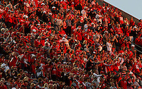 OSU fans cheer as the Buckeyes defeat Indiana at Ohio Stadium October 8, 2016. (Dispatch photo by Eric Albrecht)