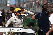 25th March 2018, Melbourne Grand Prix Circuit, Melbourne, Australia; Melbourne Formula One Grand Prix, race day; Renault Sport F1 Team; Carlos Sainz