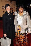Katherine Milton and Natara Williams on the red carpet at Fashion Houston at the Wortham Theater Wednesday Nov.13,2013.  (Dave Rossman photo)