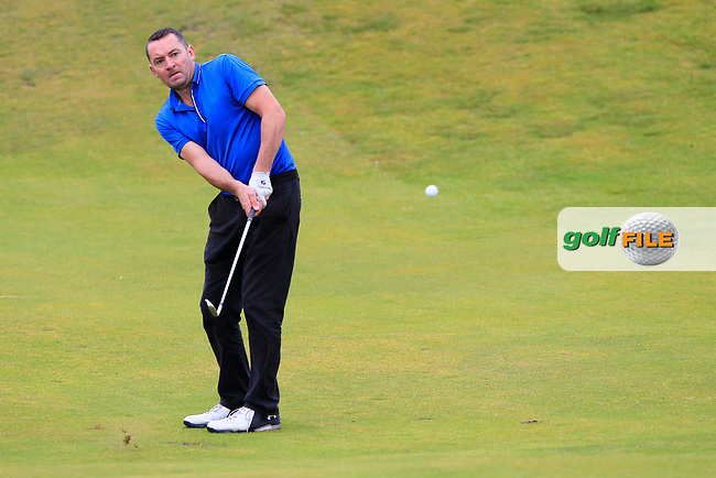 Barry Cashman (Belvoir Park) during Round 2 of the North of Ireland Amateur Open Championship 2019 at Portstewart Golf Club, Portstewart, Co. Antrim on Tuesday 9th July 2019.<br /> Picture:  Thos Caffrey / Golffile<br /> <br /> All photos usage must carry mandatory copyright credit (© Golffile | Thos Caffrey)