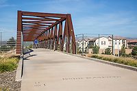 Pedestrian Bridge at Irvine Boulevard and Jeffery in Irvine