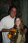 """Bobby Convertino came to see his daughter Isabella who stars as """"Mary Lennox"""" as Philipstown Depot Theatre presents The Secret Garden on November 15, 2009 in Garrison, New York. The musical The Secret Garden is the story of """"Mary Lennox"""", a rich spoiled child who finds herself suddenly an orphan when cholera wipes out the entire Indian village where she was living with her parents. She is sent to live in England with her only surviving relative, an uncle who has lived an unhappy life since the death of his wife 10 years ago. """"Archibald's son Colin"""", has been ignored by his father who sees Colin only as the cause of his wife's death.This is essentially the story of three lost, unhappy souls who, together, learn how to live again while bringing Colin's mother's garden back to life. (Photo by Sue Coflin/Max Photos)........"""