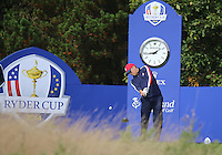 23 Sept 14  American Jordan Speith during the Tuesday Practice Round at The Ryder Cup at The Gleneagles Hotel in Perthshire, Scotland. (photo credit : kenneth e. dennis/kendennisphoto.com)