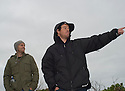 Koby Abberton and Mark Matthews checking the Right in Walpole, Western Australia.