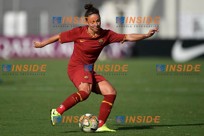 Vanessa Bernauer of AS Roma <br /> Roma 8/9/2019 Stadio Tre Fontane <br /> Luisa Petrucci Trophy 2019<br /> AS Roma - Paris Saint Germain<br /> Photo Andrea Staccioli / Insidefoto