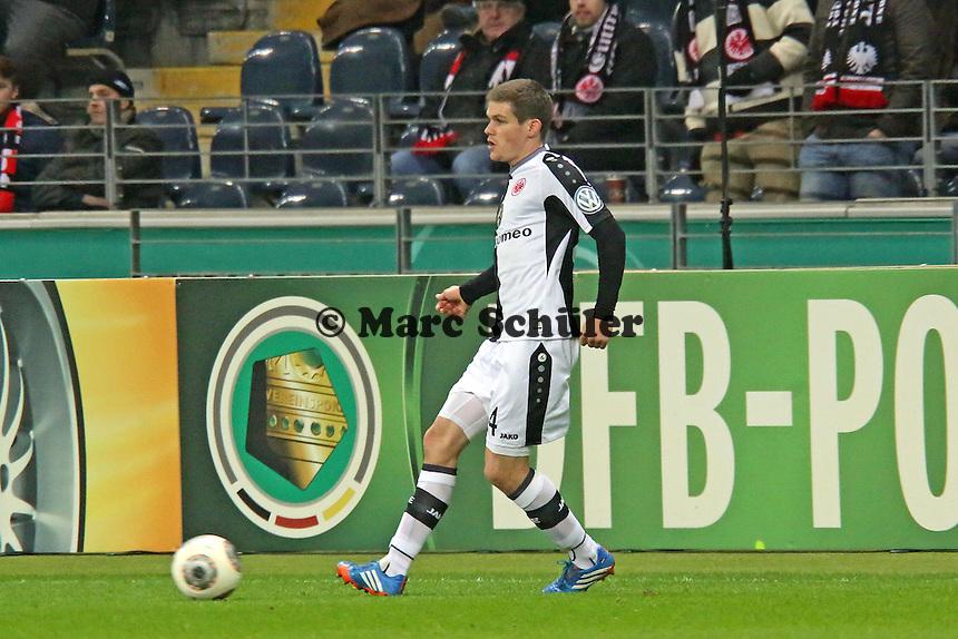 Sebastian Jung (Eintracht) - Eintracht Frankfurt vs. SV Sandhausen, DFB-Pokal, Commerzbank Arena