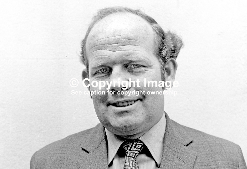 Patrick Duffy, candidate, SDLP, Mid-Ulster, N Ireland Assembly Election, 197306000427a.<br />