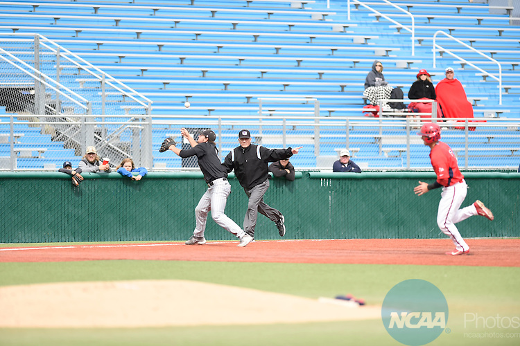 20 MAY 2015: The 2015 Mountain West Baseball Championship held at the University of Nevada Reno at William Piccolo Park in Reno, NV. Justin Tafoya/NCAA Photos