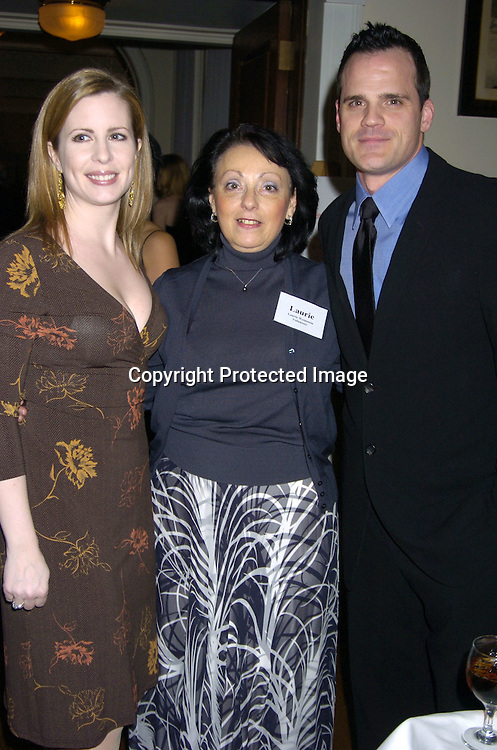 Michael Park and wife Laurie..at The Black Tie and Blackjack Casino NIght in support of The Leukemia & Lymphoma Society at The Downtown Association on February 12, 2005. ..Photo by Robin Platzer, Twin Images