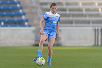 Bridgeview, IL, USA - Sunday, May 29, 2016: Chicago Red Stars defender Arin Gilliland (3) during a regular season National Women's Soccer League match between the Chicago Red Stars and Sky Blue FC at Toyota Park. The game ended in a 1-1 tie.