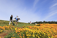 Jon Rahm (ESP) walks off the 8th tee during Sunday's Final Round of the 2018 AT&amp;T Pebble Beach Pro-Am, held on Pebble Beach Golf Course, Monterey,  California, USA. 11th February 2018.<br /> Picture: Eoin Clarke | Golffile<br /> <br /> <br /> All photos usage must carry mandatory copyright credit (&copy; Golffile | Eoin Clarke)
