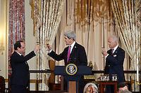 François Hollande State visit in Washington DC - USA
