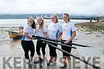 enjoying the Fenit Regatta on Sunday were Templenoe Rowing club isabelle Van der Winter, Amy Harrington, Fiadh Lucey, Eimear Crowley