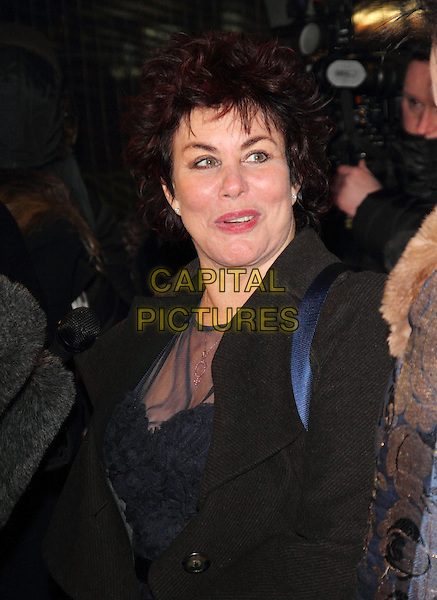 Ruby Wax.Opening Night of 'Book of Mormon' at the Prince of Wales Theatre, Coventry Street, London, UK, March 21st 2013..portrait headshot  black sheer see thru through .CAP/ROS.©Steve Ross/Capital Pictures