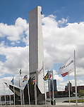 War memorial, Rotterdam, South Holland, Netherlands