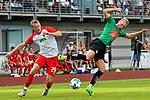 05.07.2017, Illerstadion, Kempten, GER, FSP, FC Augsburg vs FC Wacker Innsbruck, im Bild Georg Teigl (Augsburg #28), Martin Harrer (Innsbruck #11)<br /> <br /> Foto &copy; nordphoto / Hafner