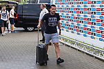 Spainsh Pedro Rodriguez arriving at the concentration of the spanish national football team in the city of football of Las Rozas in Madrid, Spain. August 28, 2017. (ALTERPHOTOS/Rodrigo Jimenez)