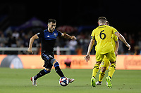 SAN JOSE, CA - AUGUST 03: Vako  during a Major League Soccer (MLS) match between the San Jose Earthquakes and the Columbus Crew on August 03, 2019 at Avaya Stadium in San Jose, California.