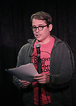 Matthew Broderick performing at the Seth Rudetsky Book Launch Party for 'Seth's Broadway Diary' at Don't Tell Mama Cabaret on October 22, 2014 in New York City.