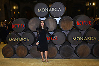 MEXICO CITY, MEXICO - SEPTEMBER 10: Producer Salma Hayek poses for photos during a red carpet of Monarca Netflix Tv Series premiere at Antiguo Colegio de San Ildefonso on September 10, 2019 in Mexico City, Mexico Credit: Action Press/MediaPunch ***FOR USA ONLY***