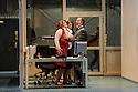 London, UK. 24.09.2015. English National Opera presents LADY MACBETH OF MTSENSK, at the London Coliseum. Directed by Dmitri Tcherniakov. Picture shows: Robert Hayward (Boris Timofeyevich Ismailov). Photograph © Jane Hobson.