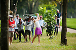 CHON BURI, THAILAND - FEBRUARY 16:  Michelle Wie of USA plays a shoot on the 15th hole during day one of the LPGA Thailand at Siam Country Club on February 16, 2012 in Chon Buri, Thailand.  Photo by Victor Fraile / The Power of Sport Images
