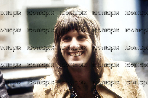 EMERSON LAKE & PALMER - Keith Emerson - 1972.  Photo credit: MMMedia/IconicPix