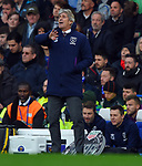 West Ham United manager Manuel Pellegrini issues instructions during the Premier League match at Stamford Bridge, London. Picture date: 30th November 2019. Picture credit should read: Robin Parker/Sportimage