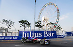 Sam Bird of Great Britain from DS Virgin Racing competes during the FIA Formula E Hong Kong E-Prix Round 2 at the Central Harbourfront Circuit on 03 December 2017 in Hong Kong, Hong Kong. Photo by Marcio Rodrigo Machado / Power Sport Images