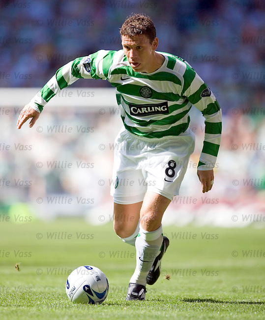 Alan Thompson, Celtic.stock season 2005-2006.pic willie vass