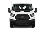 Car photography straight front view of a 2015 Ford Transit 150 Van 2 Door  Front View