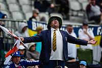 Fan during Day 4 of the Second International Cricket Test match, New Zealand V England, Hagley Oval, Christchurch, New Zealand, 2nd April 2018.Copyright photo: John Davidson / www.photosport.nz
