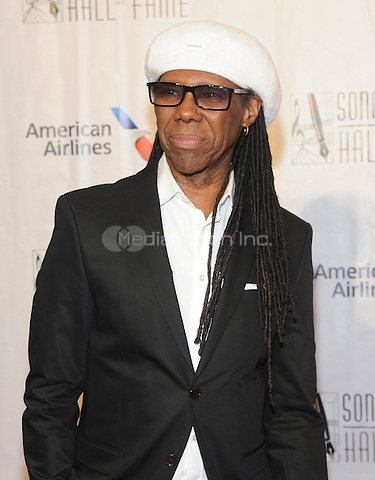 NEW YORK, NY - JUNE 09:  Nile Rogers attends the 47th Annual Songwriters Hall Of Fame Induction And Awards Gala at The New York Marriott Marquis on June 9, 2016 in New York City.  Photo Credit:John Palmer/ Media Punch