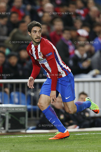 Sime Vrsaljko (Atletico), MARCH 15, 2017 - Football / Soccer : UEFA Champions League round of 16 2nd leg match between Club Atletico de Madrid 0-0 Bayer 04 Leverkusen at the Vicente Calderon Stadium in Madrid, Spain. (Photo by Mutsu Kawamori/AFLO) [3604]