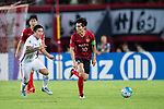 Guangzhou Midfielder Zheng Zhi (R) in action against Shanghai FC Midfielder Cai Huikang (L) during the AFC Champions League 2017 Quarter-Finals match between Guangzhou Evergrande (CHN) vs Shanghai SIPG (CHN) at the Tianhe Stadium on 12 September 2017 in Guangzhou, China. Photo by Marcio Rodrigo Machado / Power Sport Images