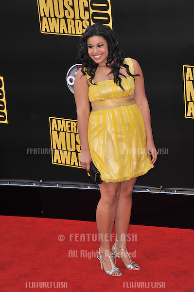 Jordin Sparks at the 2008 American Music Awards at the Nokia Live! Theatre in Los Angeles..November 23, 2008  Los Angeles, CA.Picture: Paul Smith / Featureflash