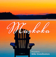 PRODUCT: Book<br /> TITLE: Muskoka<br /> CLIENT: Key Porter Books