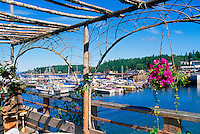 Marina at Lund, BC, British Columbia, Canada - at the End of Highway 101