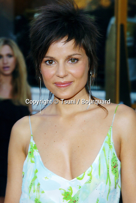 Elena Anaya arriving at the Van Helsing Premiere at the Universal Amphitheatre in Los Angeles. May 3, 2004.