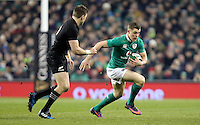 19th November 2016 | IRELAND vs NEW ZEALAND<br /> <br /> Garry Ringrose during the Autumn Series International clash between Ireland and New Zealand at the Aviva Stadium, Lansdowne Road, Dublin,  Ireland. Photo by John Dickson/DICKSONDIGITAL