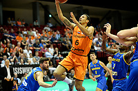 GRONINGEN - Basketbal, Nederland - Roemenie, WK kwalificatie 2019, Martiniplaza, 28-06-2018 score Worthy de jong