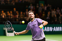 Rotterdam, The Netherlands, 14 Februari 2019, ABNAMRO World Tennis Tournament, Ahoy, quarter final, Stan Wawrinka (SUI),<br /> Photo: www.tennisimages.com/Henk Koster