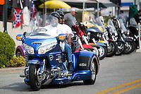 NWA Democrat-Gazette/JASON IVESTER<br /> Bikes, Blues & BBQ on Thursday, Sept. 24, 2015, in Fayetteville