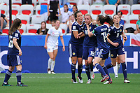 Celebration - Claire Emslie (Scotland) - But<br /> Nice 09-06-2019 <br /> Football Womens World Cup <br /> England - Scotland <br /> Inghilterra - Scozia <br /> Photo Norbert Scanella / Panoramic/Insidefoto <br /> ITALY ONLY